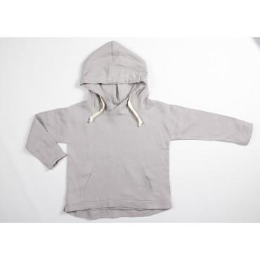 Linen grey hoodie