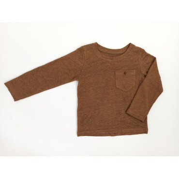 Linen longsleeve brown