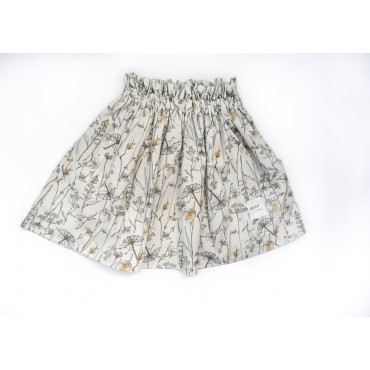 Cotton skirt flowers