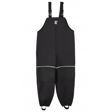 Black basic -  Dungarees pants