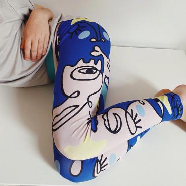 Leggings Crazy Emotions