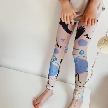 Leggings Crazy Hands