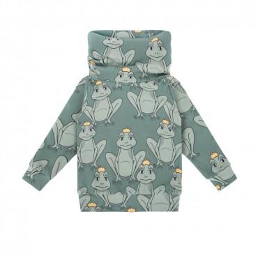 Frog Green Snood Sweatshirt