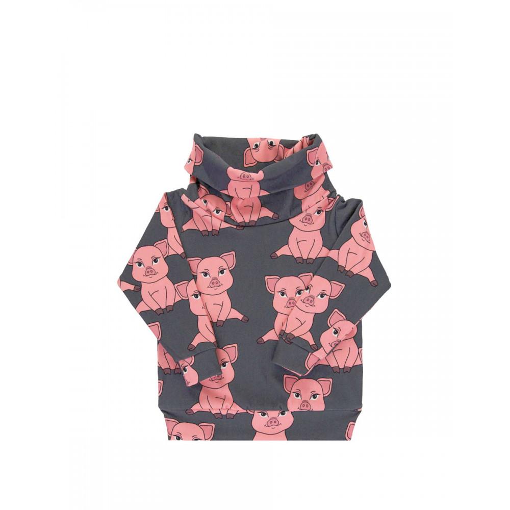 Piggy Dark Tube Sweatshirt