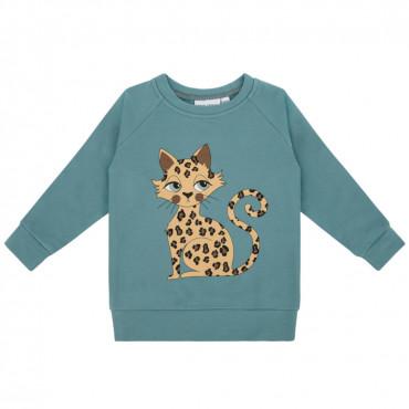 Gepard Green Sweatshirt