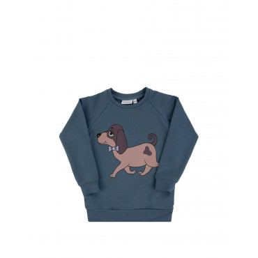 Doggie Blue Sweatshirt