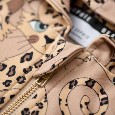 Gepard Brown Hoodie