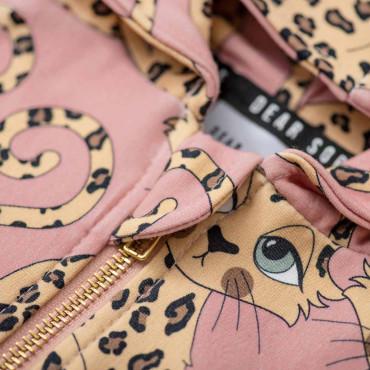 Gepard Pink Hoodie
