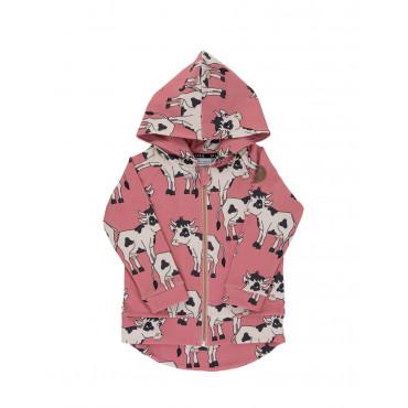 Cow Pink Hoodie