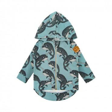 Narwhal Blue Hoodie