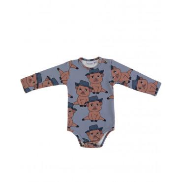 Piggy Blue bodysuit