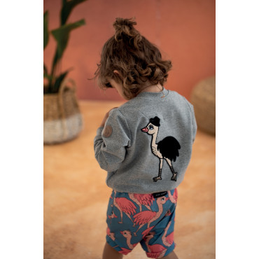 LORD OSTRICH BOMBER JACKET