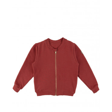 Cow Red Bomber Jacket