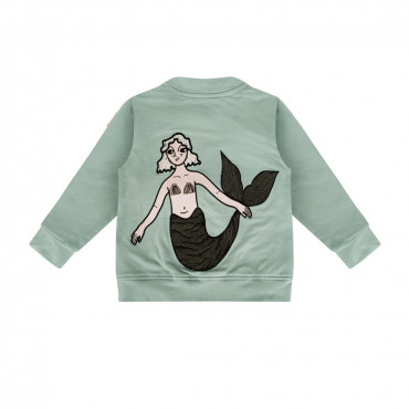 Mermaid Mint Bomber Jacket