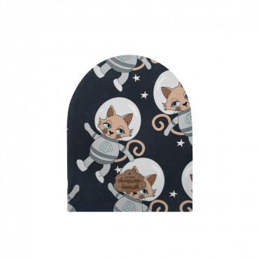 Astrocat Dark Beanie