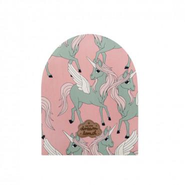 Pegasus Pink Beanie