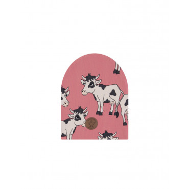 Cow Pink Beanie