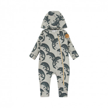 Narwhal Grey Overall