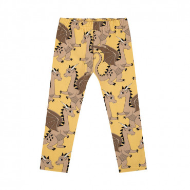 Dragon Yellow leggings