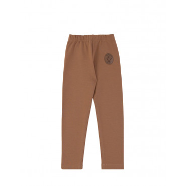 Brown Basic leggings