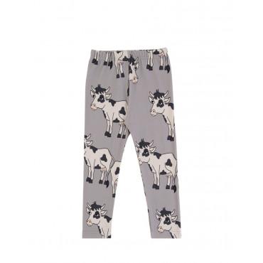 Cow Grey leggings