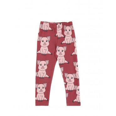 Piggy Red leggings