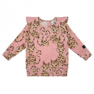 Gepard  Pink Frilled Longsleeve