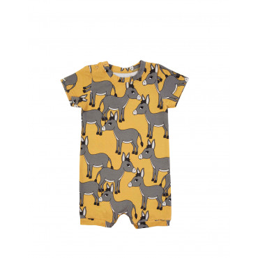DONKEY YELLOW ROMPER