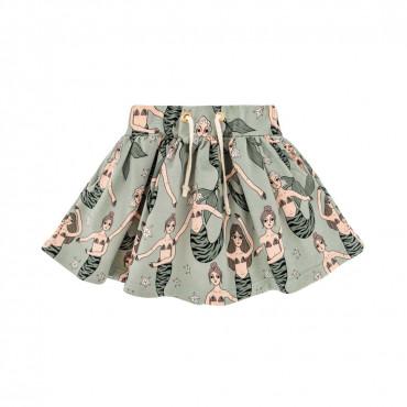 Mermaid Mint Skirt