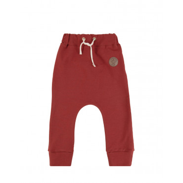 Red Basic Pants