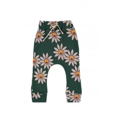 Green Daisy Pants