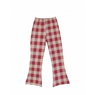 Maroon Checker Flares