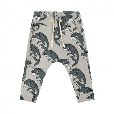 Narwhal Grey Pants