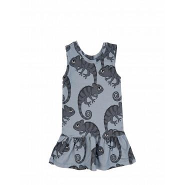 CHAMELEON BLUE DRESS