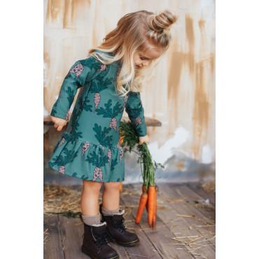 Parsley Green Longsleeve Dress