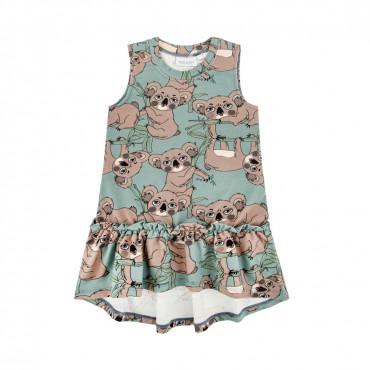 Koala Sea-Green Dress