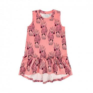 Parrot Pink Dress