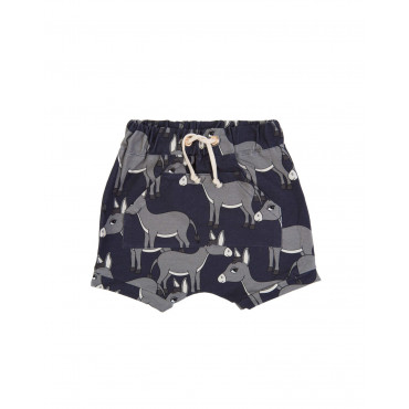 NAVY DONKEY SHORTS
