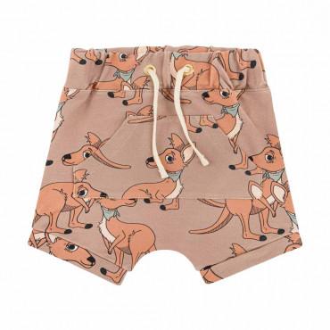 Kangaroo Brown Shorts