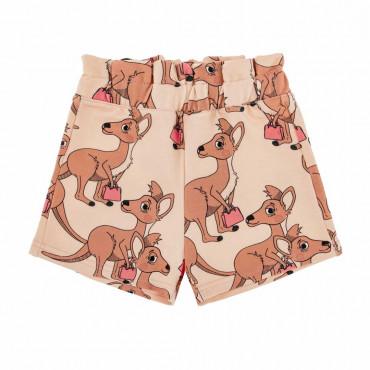 Kangaroo Light Paperbag Shorts