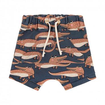 Crocodile Navy Shorts