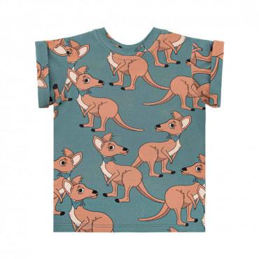 Kangaroo Blue T-shirt