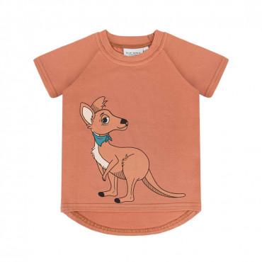 Kangaroo Red Brick T-shirt