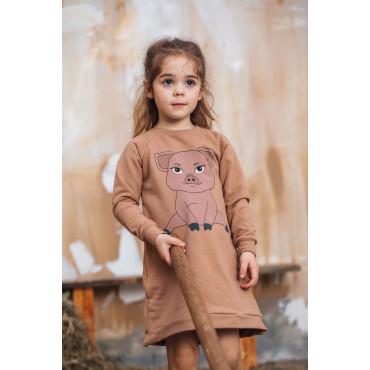Piggy Brown Tunic