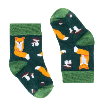 Socks Forest Land Foxes (0-3, 3.5-7.5, 8.5-11.5, 12.5-2.5)
