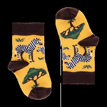 Socks Kenia Zebras (0-3, 3.5-7.5)
