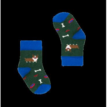 Socks England Corgi Dogs (0-3, 3.5-7.5)