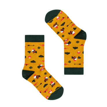 Socks Germany Garden gnomes (8.5-11.5, 12.5-2.5)
