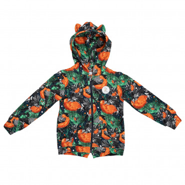 Bullfinch Hoodie with zip
