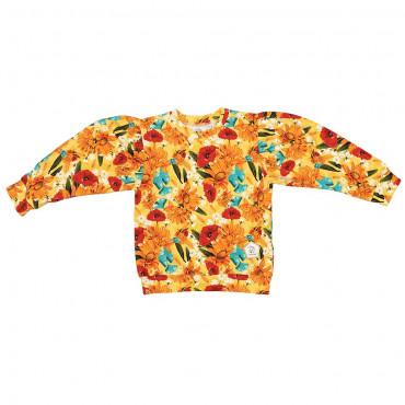 Yellow Meadow Puff Sweatshirt